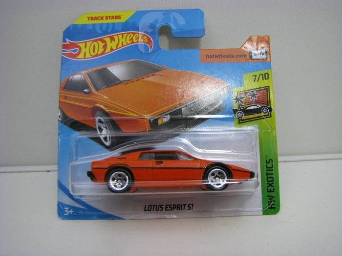 Lotus Esprit ST Orange Hot Wheels Exotics-2018